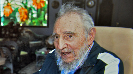 El expresidente de Cuba, Fidel Castro