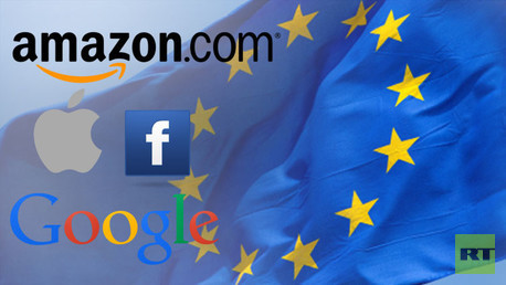 ¿Ofensiva masiva de UE contra Google, Facebook, Apple y Amazon?