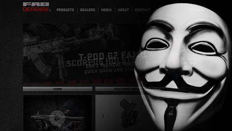 Anonymous 'hackea' el sitio web de una empresa israelí importadora de armas