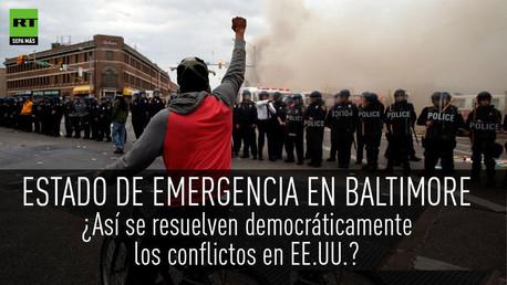 Nuevo punto de ebulición.: Todo sobre las protestas en Baltimore que dividen EE.UU.