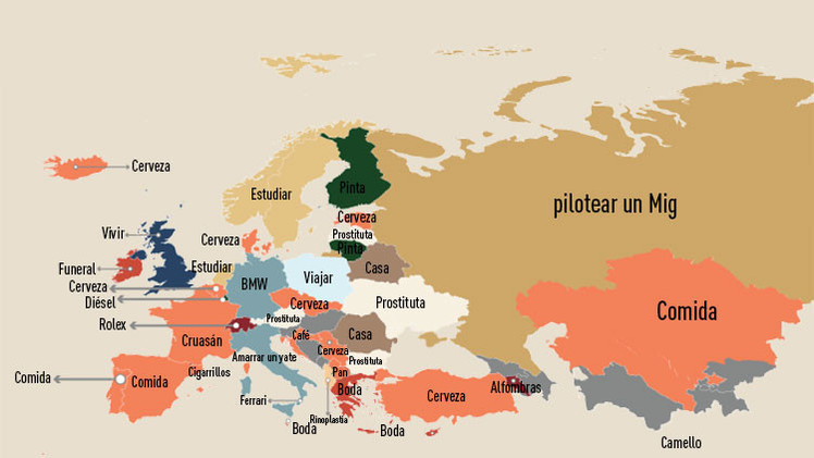 Mapa: Lo más buscado en Google en cada país