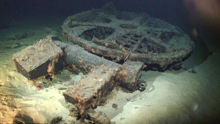 Video: Enorme submarino japonés de la II Guerra Mundial descubierto en Hawái