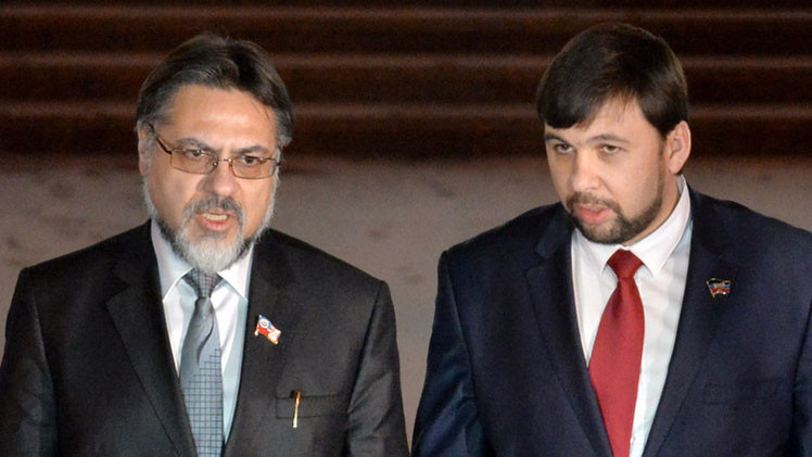 Donbass apoya la designación de miembros de la OSCE como coordinadores de los subgrupos de trabajo