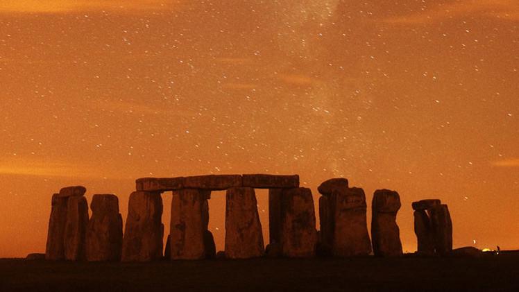 Fotos: Fascinantes postales captan Stonehenge a través de los siglos
