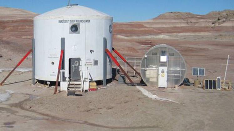 Fotos, video: Así sería viajar a Marte