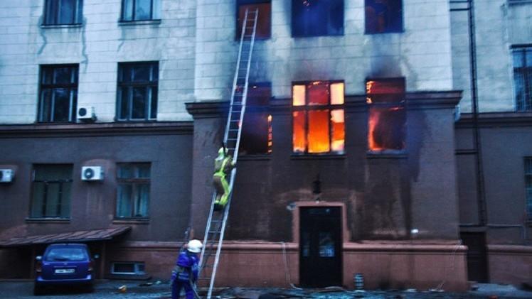 "Moscú: Kiev no da ""pasos concretos"" para investigar la masacre de Odesa"