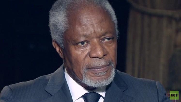 """Kofi Annan: """"No se puede disociar la situación actual en Irak de la intervención de EEUU en 2003"""""""