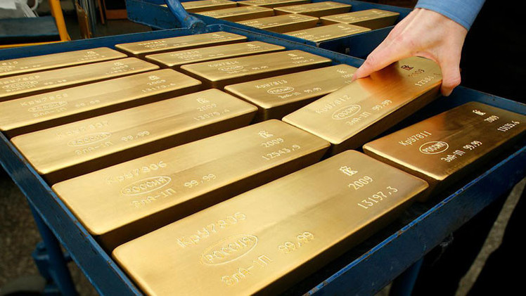 'The Washington Times': Las reservas de oro de Rusia podrían destruir la economía de EE.UU.