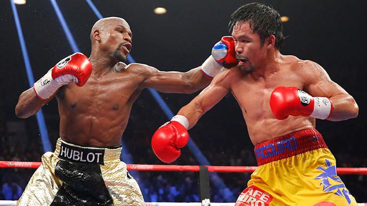 Floyd Mayweather derrotó a Manny Pacquiao en el 'combate del siglo'