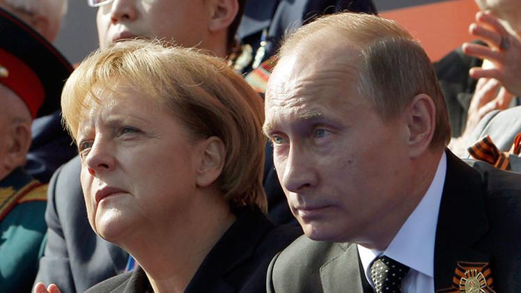 """Merkel explica por qué su visita a Moscú """"es importantísima"""" para todos los alemanes"""