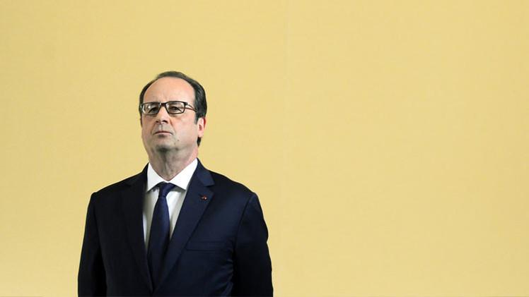 Una abrumadora mayoría de franceses no cree en el presidente François Hollande