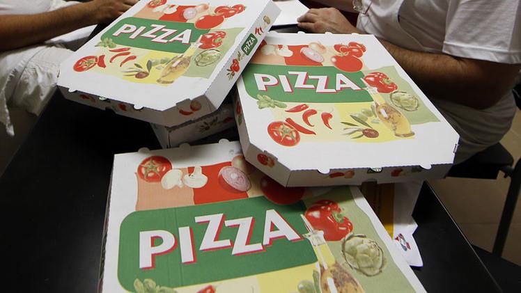 Científicos: Las cajas de pizza contienen químicos que pueden causar cáncer