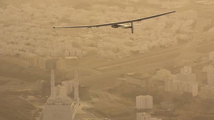 Avión Solar Impulse a por su gran hito: volar de China a Hawái