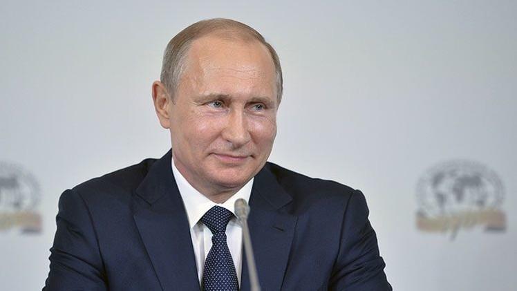 El presidente de la Federación de Rusia, Vladímir Putin