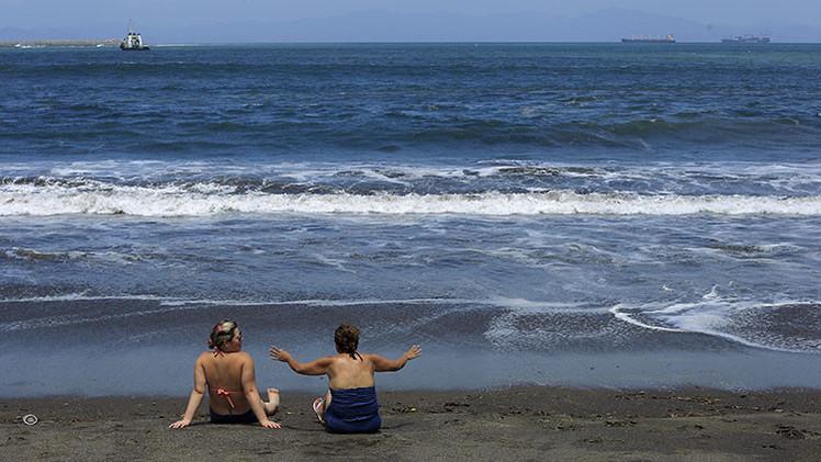 La playa de Puntarenas