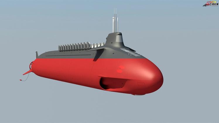 China estaría desarrollando un nuevo submarino nuclear de cuarta generación