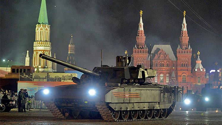 Medios extranjeros: El T-14 Armata será líder entre los mejores tanques del mundo