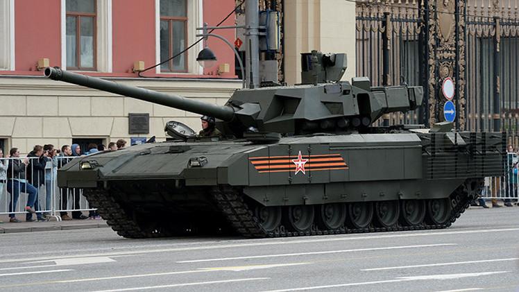 """""""El tanque ruso T-14 Armata obligará a Occidente a rearmarse de manera urgente"""""""
