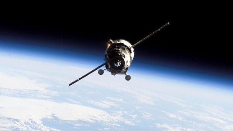 Foto: Captan el momento de la explosión de la nave espacial Progress sobre Sudáfrica