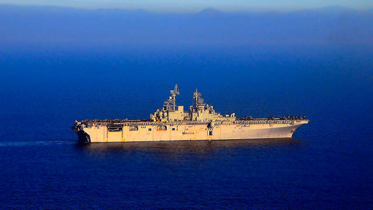 Un destructor iraní 'espanta' a un buque de guerra de EE.UU. en el Golfo de Adén