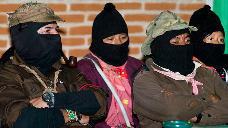 """Subcomandante Marcos: """"Ayotzinapa es un retrato de familia del sistema mexicano"""""""