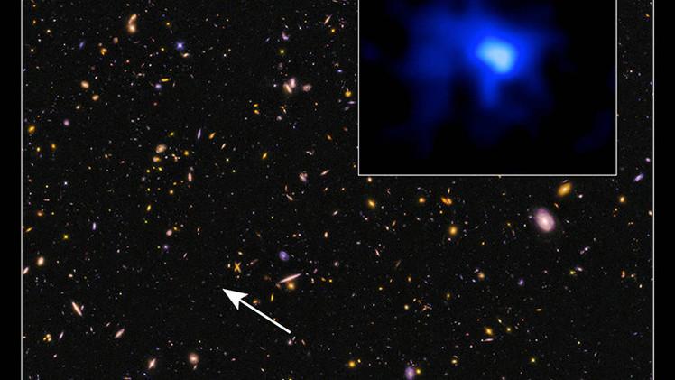 NASA rompe el récord, detectando la galaxia más lejana conocida