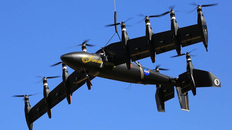 La revolucionaria aeronave de la NASA capaz de despegar en vertical