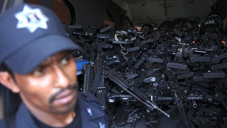 ¿De dónde salen las armas pesadas del narcotráfico en México?