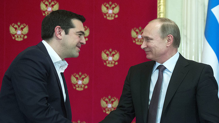 Putin confirma la intención de Rusia de financiar un gasoducto en Grecia