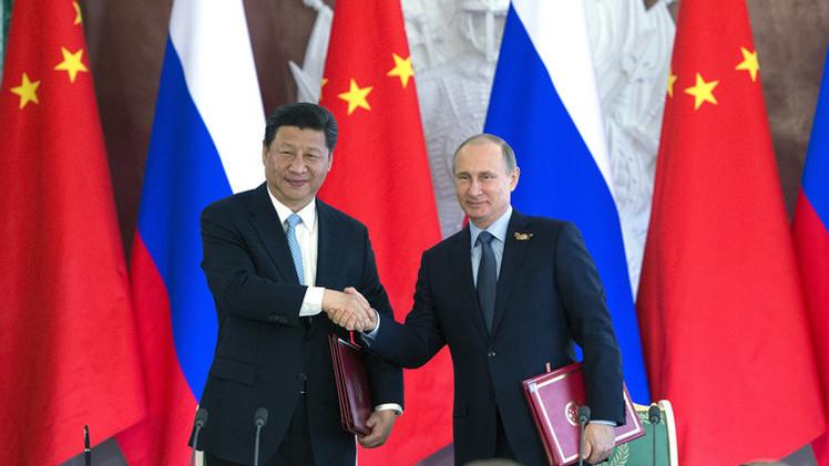 """Putin: """"La cooperación con China en la Ruta de la Seda conducirá a una nueva zona económica"""""""