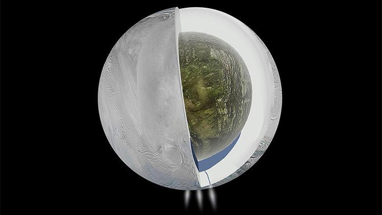 ¿Hay vida en una luna de Saturno?