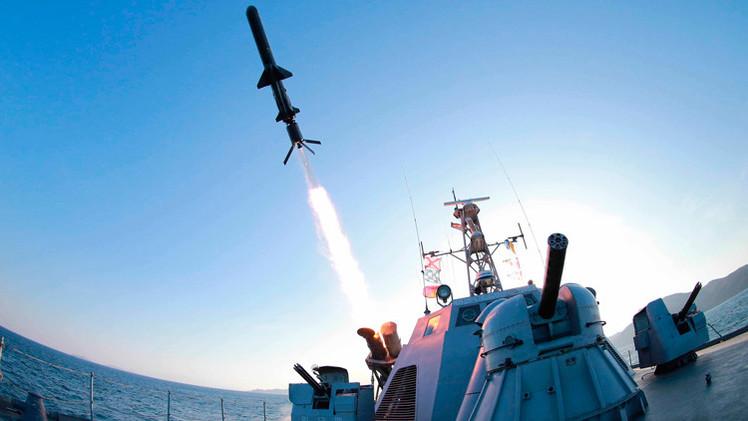 Corea del Norte lanza tres misiles antibuques en el mar de Japón