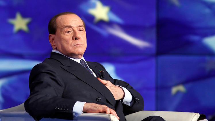 """Berlusconi: """"La ausencia de los líderes occidentales en Moscú es nuestra derrota"""""""