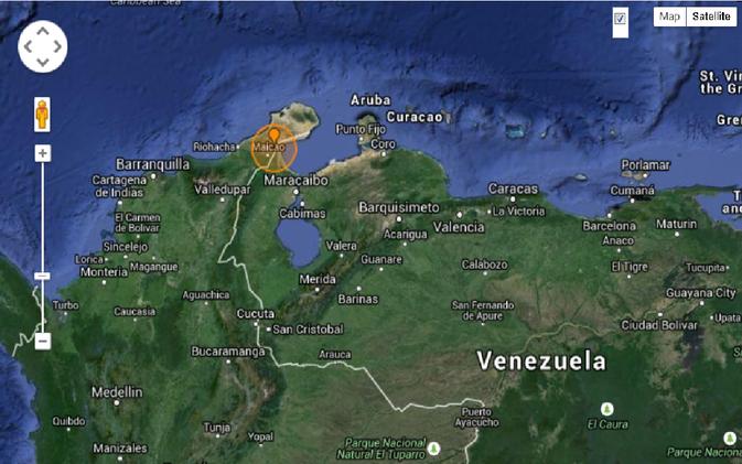 Un terremoto de magnitud 5,6 sacude Venezuela y Colombia