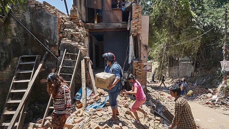 Nepal en alerta por un posible brote de cólera tras el devastador terremoto
