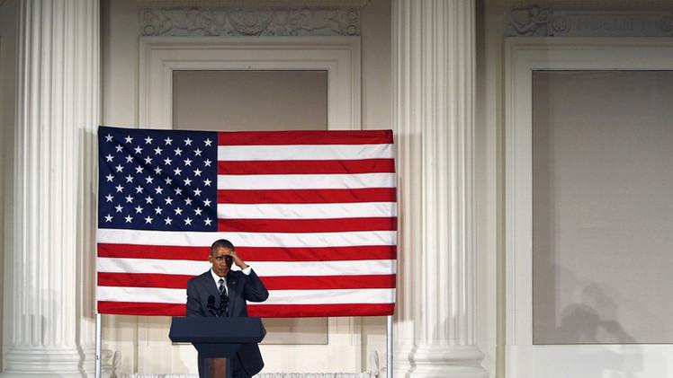 """""""Obama desapareció como un fantasma de otro mundo en la celebración de la Victoria"""""""