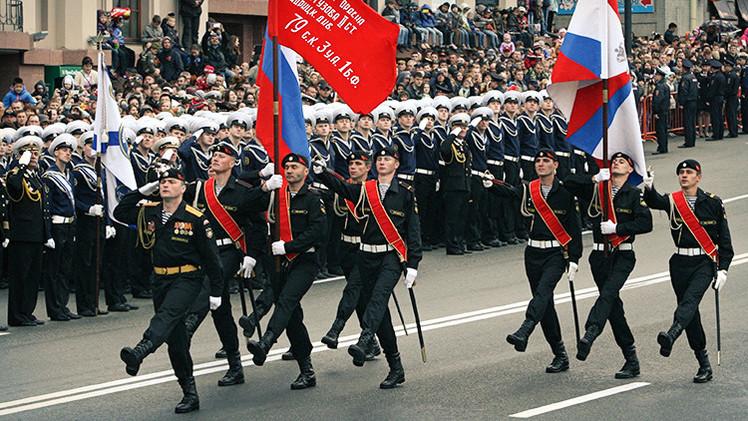 Militares rusos participarán en el desfile del Día de la Victoria en China