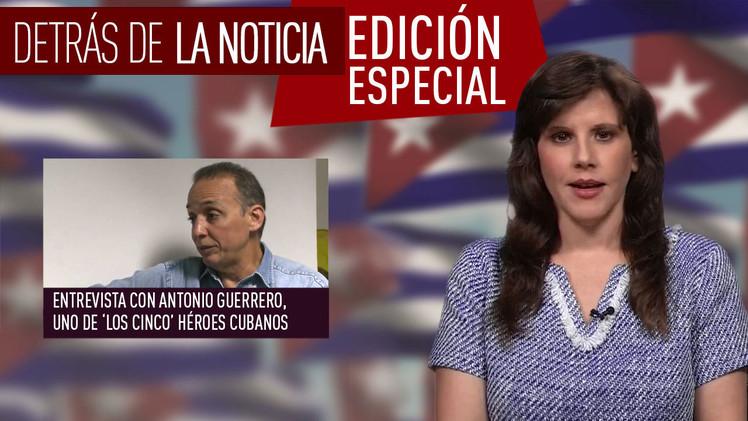 Entrevista con Antonio Guerrero, uno de 'los cinco' héroes cubanos