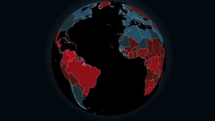 Mapa interactivo: ¿cuáles son los países más violentos del mundo?