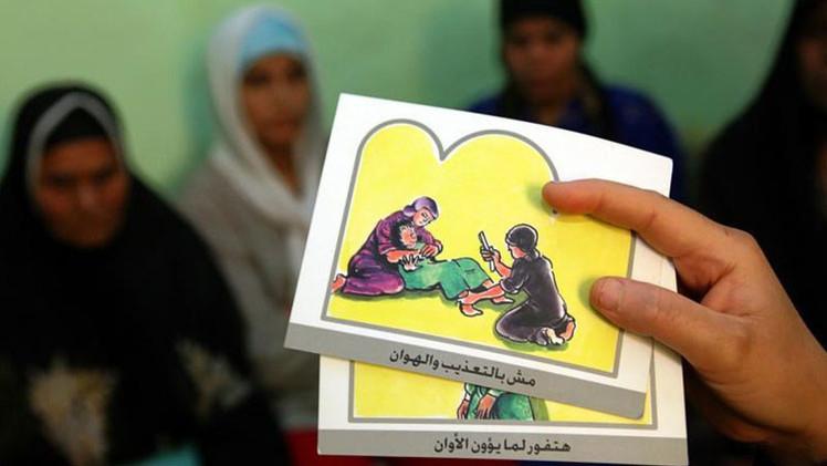 El 92% de las mujeres casadas en Egipto sufrieron la mutilación genital femenina