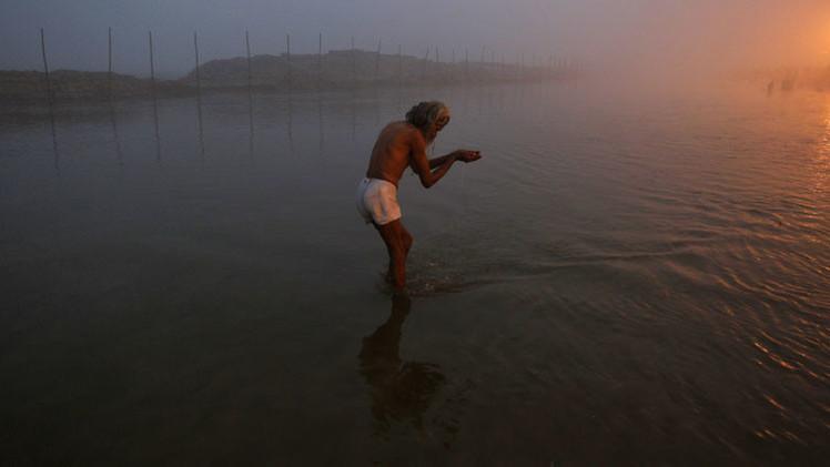 El río Saraswati revive 4.000 años después en la India