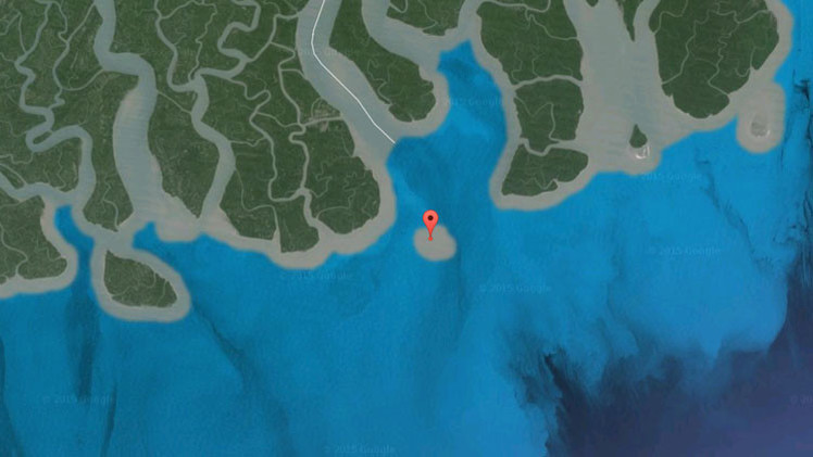 Conozca la isla que existió solo durante 40 años y desapareció  por culpa del cambio climático