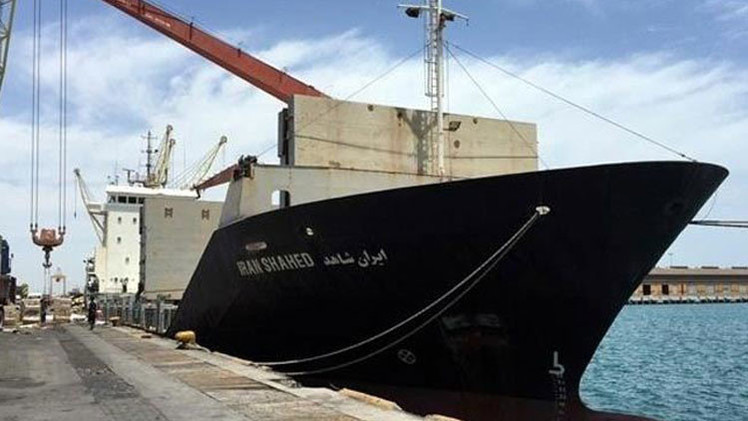 Irán iniciará una guerra contra el país que ataque su barco humanitario para Yemen