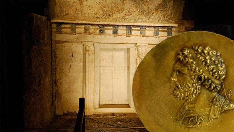 Resuelven el misterio de la tumba del padre de Alejandro Magno