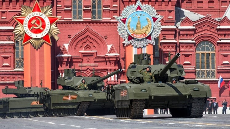 """'Armatamata': """"El proyectil del tanque T-14 podrá atravesar un metro de acero"""""""