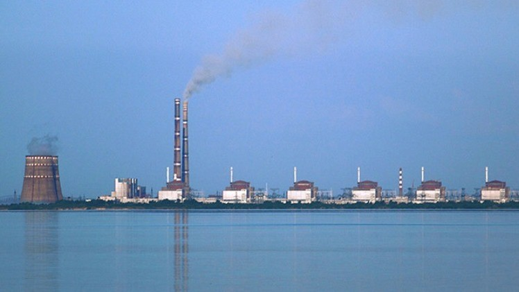 La central nuclear Zaporizhie