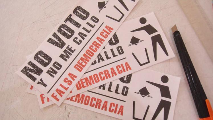 #NOvotoYnoMeCallo: Lanzan en México una campaña para boicotear las elecciones