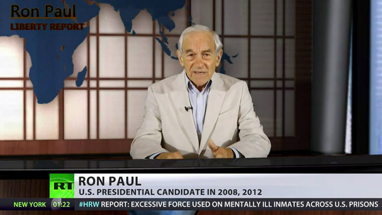 """Ron Paul: """"Los estadounidenses pierden su libertad porque EE.UU. participa en guerras ajenas"""""""