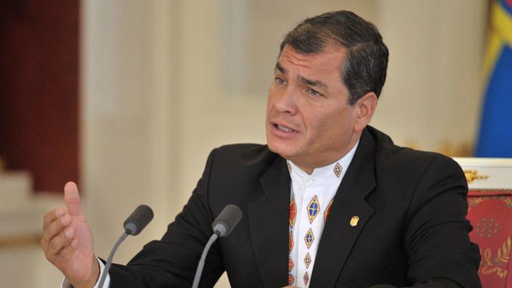 Rafael Correa denuncia las estrategias para desestabilizar Latinoamérica