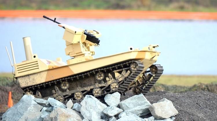 Rusia ensaya exitosamente modernos robots militares